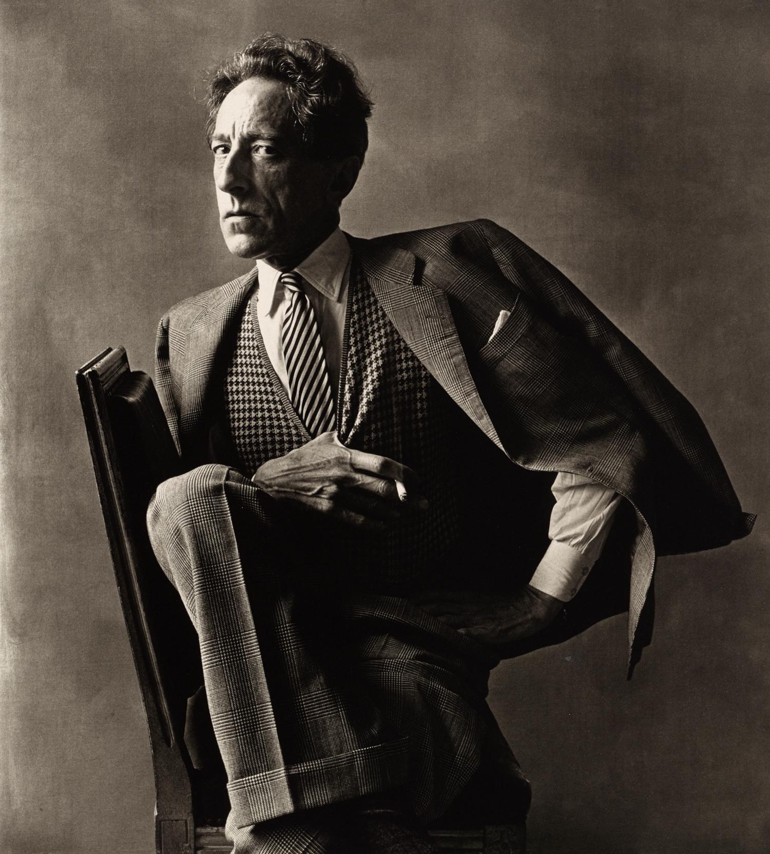Jean Cocteau (1 of 3) , Paris, 1948 Platinum-palladium print © Condé Nast