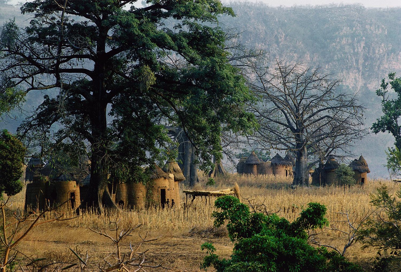 Irving Penn,  Dahomey Landscape II  ,  1967. Chromogenic print.  ©  Condé Nast