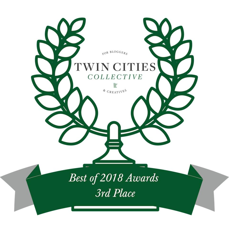 Best of 2018 Award - Anna Shpilsher at RoadMap2You Life Coaching takes THIRD place in the Twin Cities Collective Best of 2018 nomination!