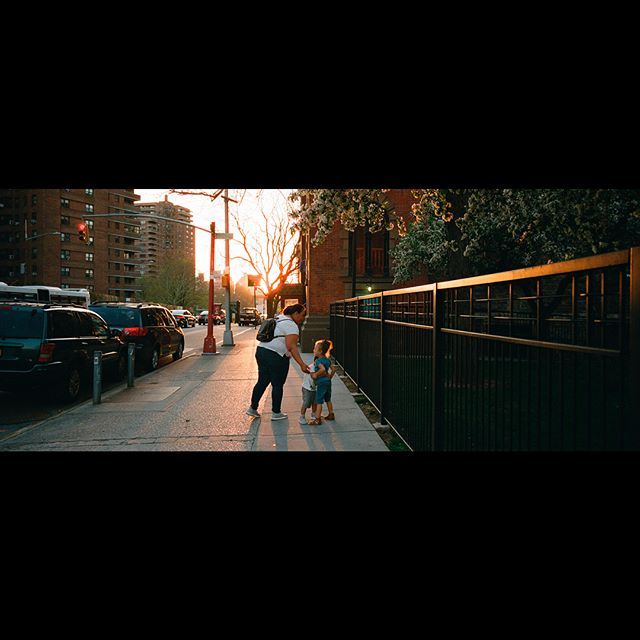 Lower East Side at magic hour // #film