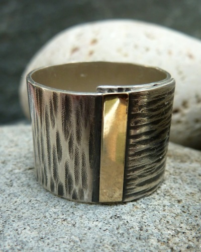 In The Silver Room - Michelle Johnson, silversmith based at the Biscuit Factory in Newcastle upon Tyne