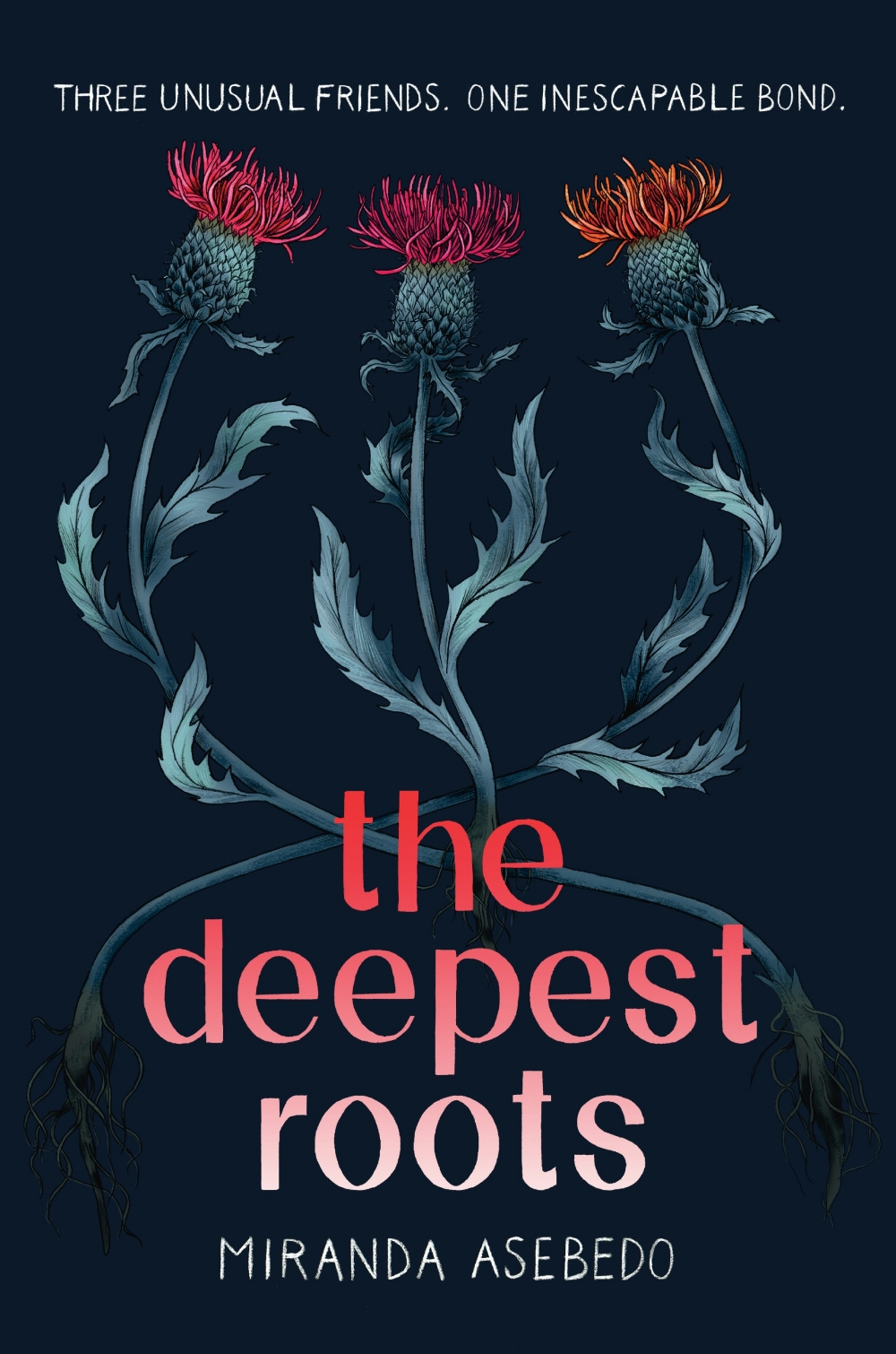 The Deepest Roots - Morgan Matson meets Maggie Stiefvater in a story that will make you believe in friendship, miracles, and maybe even magic.Cottonwood Hollow, Kansas, is a strange place. For the past century, every girl has been born with a special talent, like the ability to Fix any object, Heal any wound, or Find what is missing.To best friends Rome, Lux, and Mercy, their abilities often feel more like a curse. Rome may be able to Fix anything she touches, but that won't help her mom pay rent. Lux's ability to attract any man with a smile has always meant danger. And although Mercy can make Enough of whatever is needed, even that won't help when her friendship with Rome and Lux is tested.Follow three best friends in this enchanting debut novel as they discover that friendship is stronger than curses, that trust is worth the risk, and sometimes, what you've been looking for has been under your feet the whole time.
