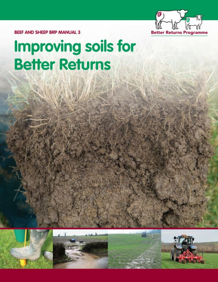 Improving soils for Better Returns    AHDB  2016   This manual offers useful advice to help improve knowledge and management of farmland soil...to produce healthy crops and livestock whilst improving the environment.