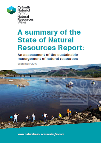 Assessment of the Sustainable Management of Natural Resources    Welsh Government  2016   Links the resilience of Welsh natural resources to wellbeing of the people. Poorly managed natural resources increase long-term risks to our wellbeing.