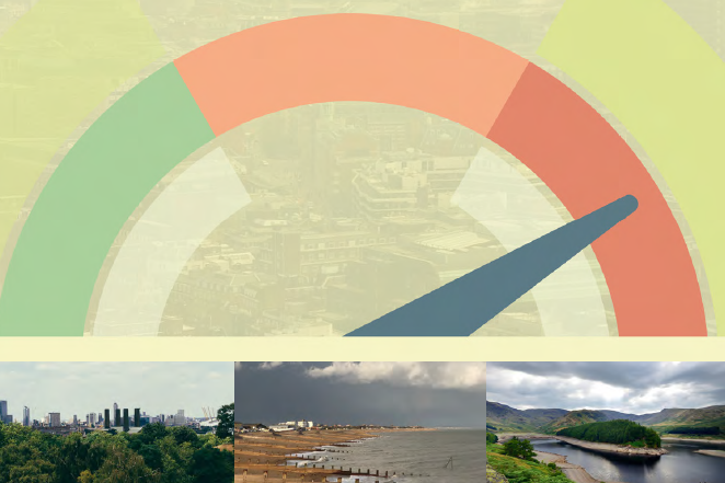Progress in preparing for climate change: 2019 Report to Parliament   Committee on Climate Change  10 July 2019   We are now seeing the substantial impacts of a global temperature rise of just 1°C. The Paris Agreement targets a threshold of well below 2°C, ideally 1.5°C, but current global plans give only a 50% chance of meeting 3°C… It is prudent to plan adaptation strategies for a scenario of 4°C, but there is little evidence of adaptation planning for even 2°C. Government cannot hide from these risks.