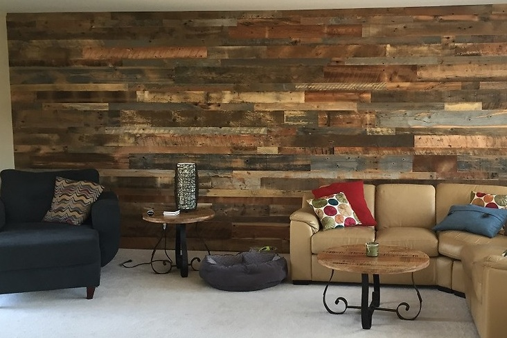 Accent wall - Starting @ only $10 per square foot INSTALLED!