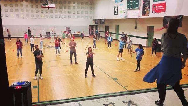 Danceathon fundraiser was toooooooo much fun with our youth from #clarkstonga 🎉🎉🎉🎉🎉#jointheabundance #danceathon #danceforacause #hoopdance #linedances #zumba #salsa #swing #burmesedance #ballet #bollywood #mitwa #chickendance #conga #dontstopdancing #danceforcharity #gotosteubenville @go2steubenville #steubieatl #steubie19
