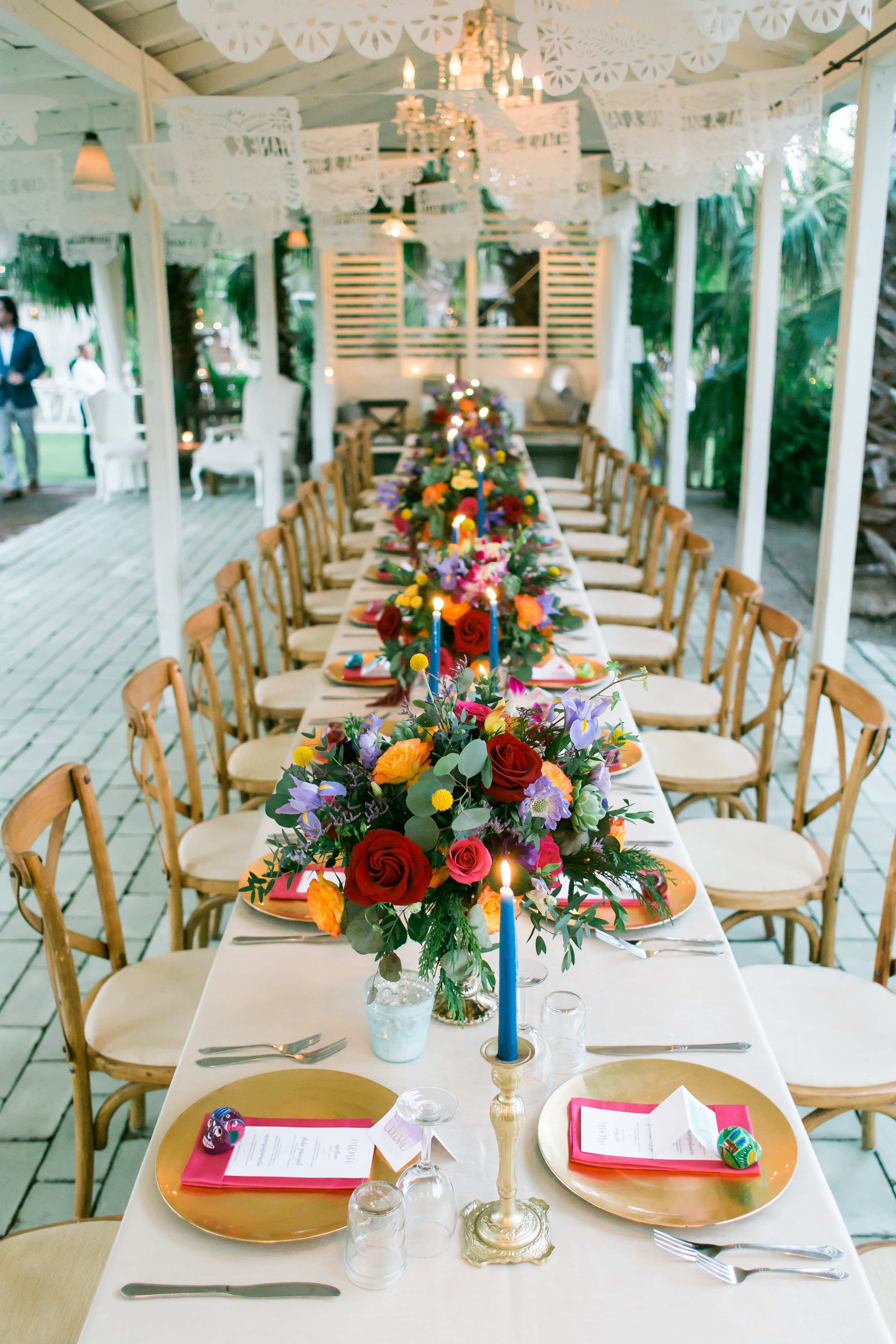 Photography:  Ana and Jerome   Venue:  Flora Farms   Florals:  Main Event Cabo