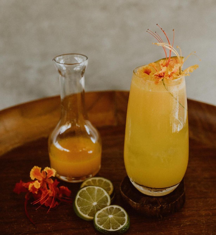 Photography:  Acre Baja  / Venue:  Acre Baja   Hummingbird: Vodka, St. Germain, citrus blend, Kaffir syrup, passionfruit