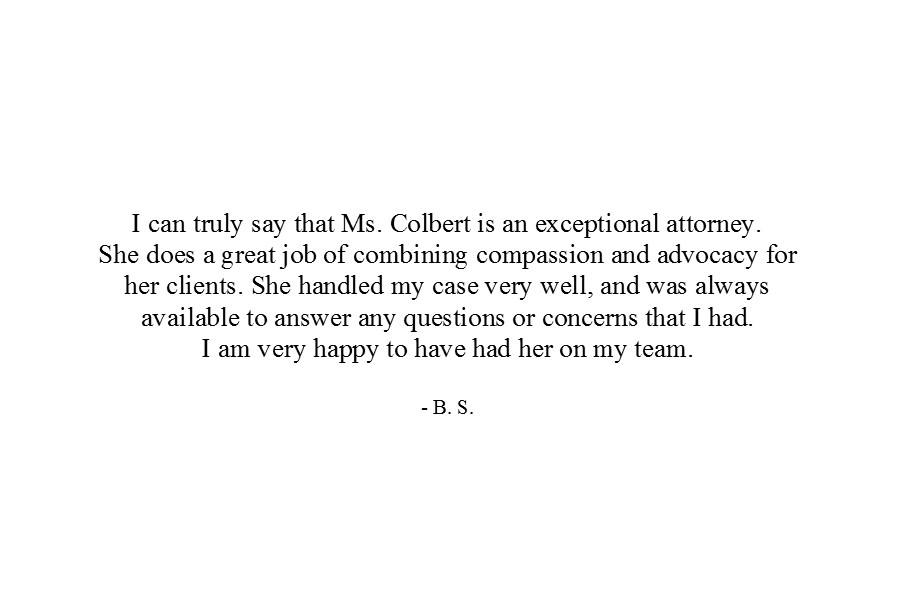 Colbert Law Firm - Janelle Ryan Colbert - Prince Georges County Maryland Attorney - Client Testimonial 1.jpg