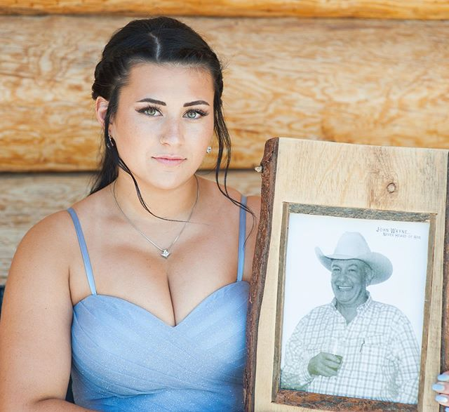 Beautiful Syd, with her late grandfather. I love this image so much.  Congratulations on your graduation and prom!!💕