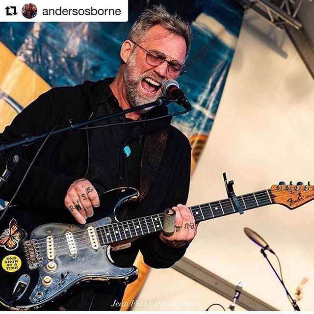 "Please help spread the word and get Anders his irreplaceable guitars back! 💔  #Repost @andersosborne ・・・ Friends - PLEASE SHARE THIS POST!!! Someone broke into my tour van at the Best Western hotel in Corte Madera in Marin County, CA last night after our Terrapin Crossroads show and stole three of my favorite guitars (all pictured below): this 1968 Fender Stratocaster ""Blackie"" and two Gibson Les Paul's:  1974 Wine Red Les Paul Custom ""Wino"" with a whammy bar and a 2017 Delaney Les Paul ""Dumaine"" customized with mahogany & cypress wood and copper fittings from my historic home in NOLA. Plus a flight case with all my pedals. • • Please share this post and if you're in the guitar world, please keep a look out. Any info please email AndersOsborne@7smgmt.com Thank you! 🙏"