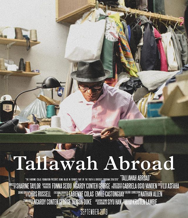 nine more days until @tallawahabroad premieres at the @montrealblackfilmfest and the trailer should be dropping soon. see you soon, mtl ✨