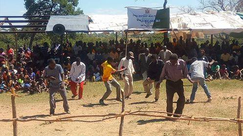 Sinda District commemorated 2018 World Malaria Day at Mng'omba Rural Health Centre.Activities included test and treat as well as community sensitization on malaria.Speeches, Exhibitions, Drama/dances and IEC.The event was graced by the District Commissioner. -