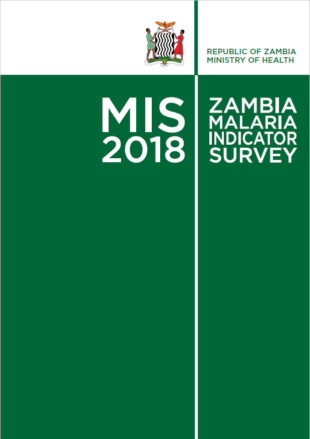 National Malaria Indicator Survey 2018 - A nationally representative household survey designed to assess the coverage of key malaria interventions and the malaria and anemia prevalence of children under five years of age.