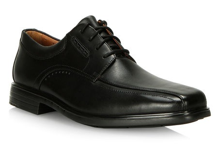 Clarks - Clarks are perfect shoes to wear as dress shoes. They are casual enough to be worn with jeans, but also perfect for the dress pants for work. They are comfortable and stylish.