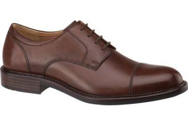 Johnston & Murphy - Johnston and Murphy are shoes perfect for the job. They are comfortable and something a little nicer. These shoes are great for weddings or other special occasions, as well as at the office.