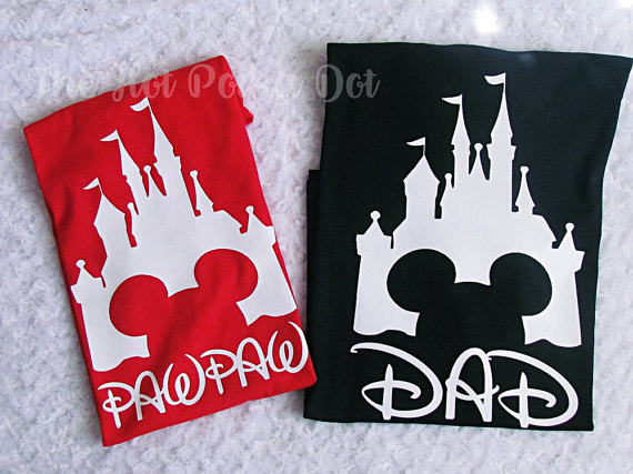 Disney Dad Shirts