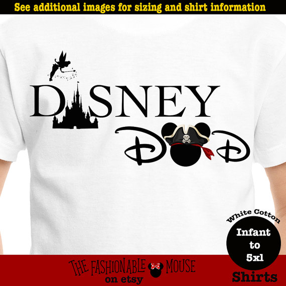 Disney Dad Pirate Shirt