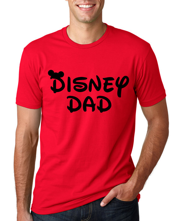 Red Disney Dad Shirt