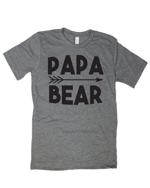 Papa Bear T Shirt