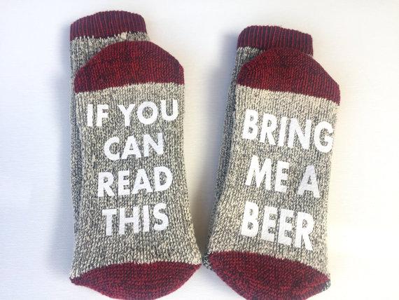 Dad Socks - Bring Me A Beer
