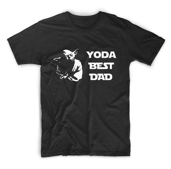 Dad Shirts - Yoda Best Dad