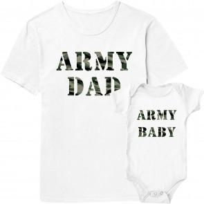 Army Dad Shirt - Army Baby Shirt