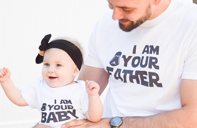 I am your father - I am your baby shirts