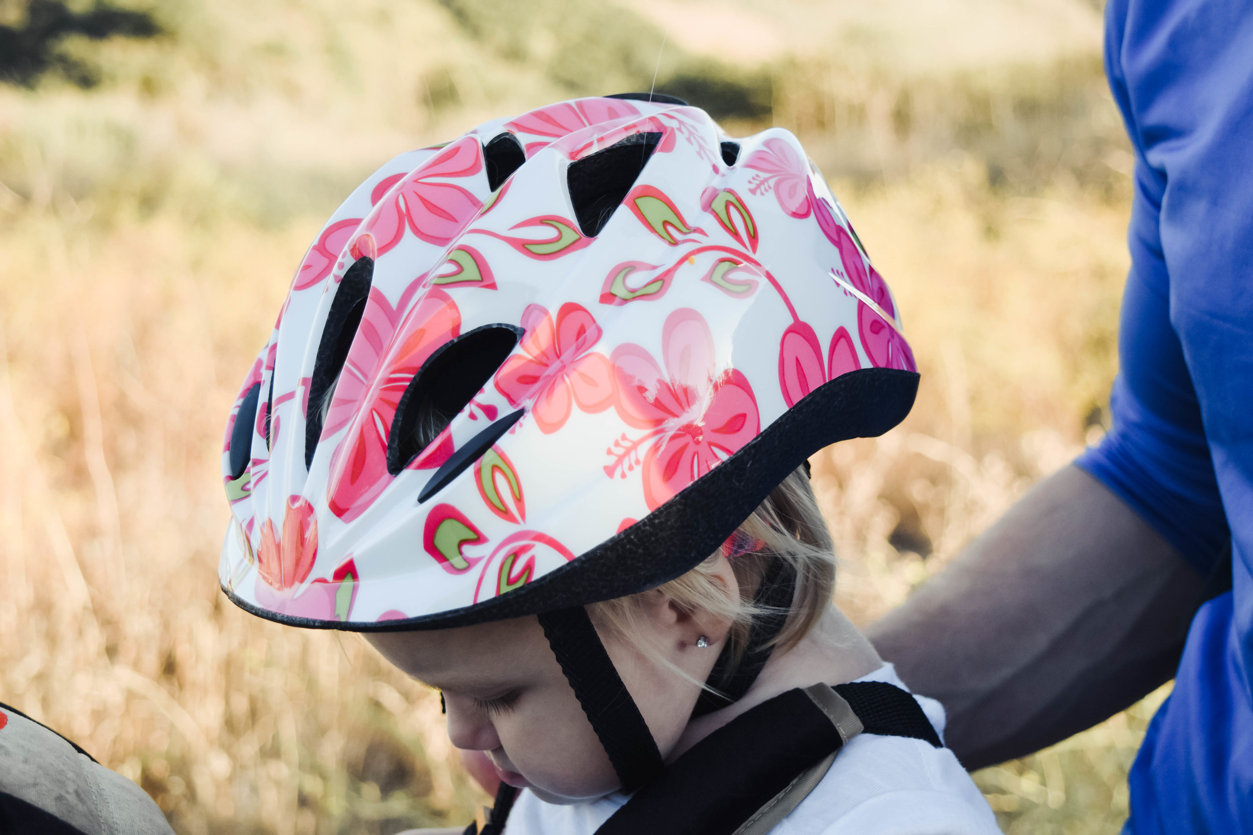 Floral Baby Bike Helmet - Kent Bicycles -- Baby Bike Seat Attachment | A Fun Way to Exercise - Fun Summer Daddy + Me Activities