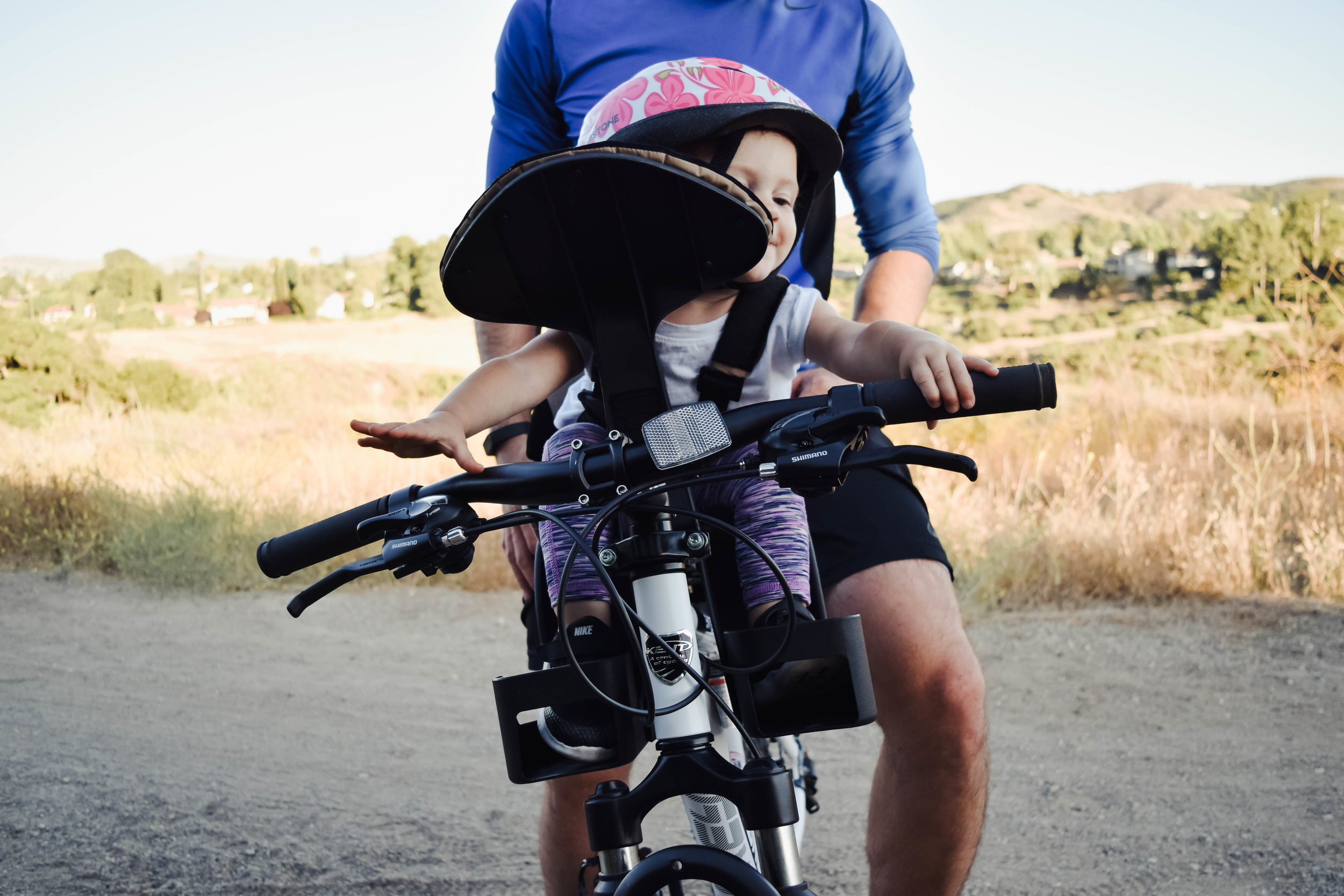 Kent Bicycles -- Baby Bike Seat Attachment | A Fun Way to Exercise - Fun Summer Daddy + Me Activities