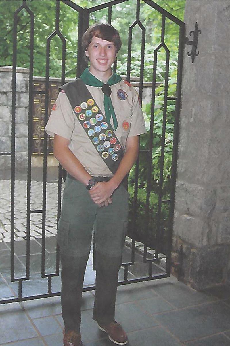 Joshua Rodgers, who built the Children's Garden foundation.