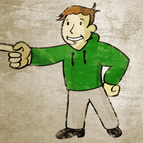"""Xbox: Fallout - """"Xbox Boy""""   Role: Illustrator"""