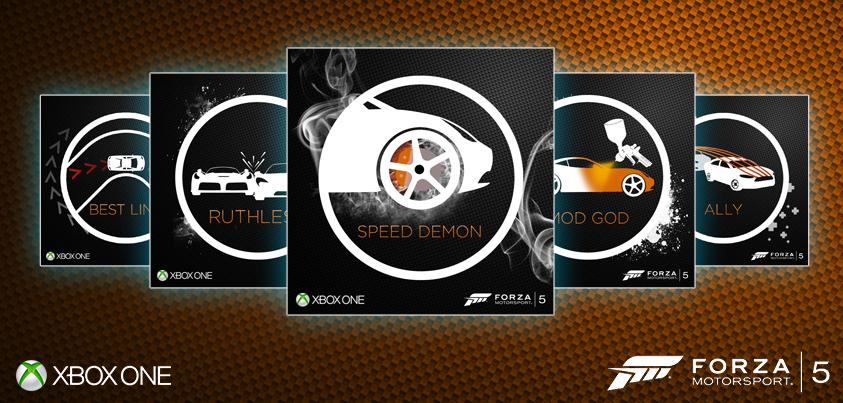 Xbox: Forza Motorsport   Role: (Graphic Design/Illustration)
