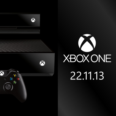 Xbox: Xbox One Release Date (Official Image)   Role: Graphic Design