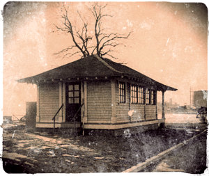 Mary Mallon's cottage on North Brother Island