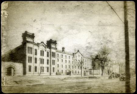 The Ohio State Penitentiary before the fire