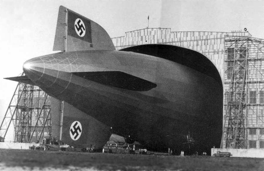 The Nazis saw the immense airships as another way of establishing their dominance in the world.