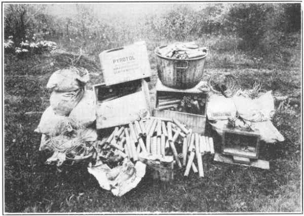 The unexploded dynamite that was found inside of the school after the initial blast. If it had gone off, there may have been no survivors of the massacre.