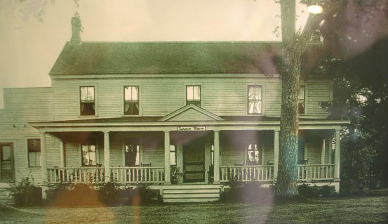A later view of the Eddy Brothers home in Chittenden, Vermont