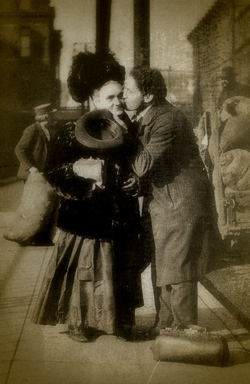 """Houdini and his beloved mother, Cecilia Weiss, about whose death he said was """"a shock from which I do not think recovery is possible."""" He spent the rest of his life attempting to communicate with her on the other side."""