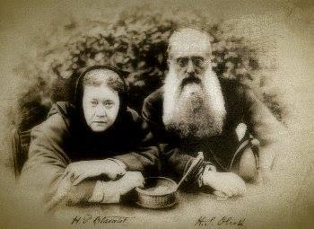 Henry Steel Olcott and Madame Helena Blavatsky