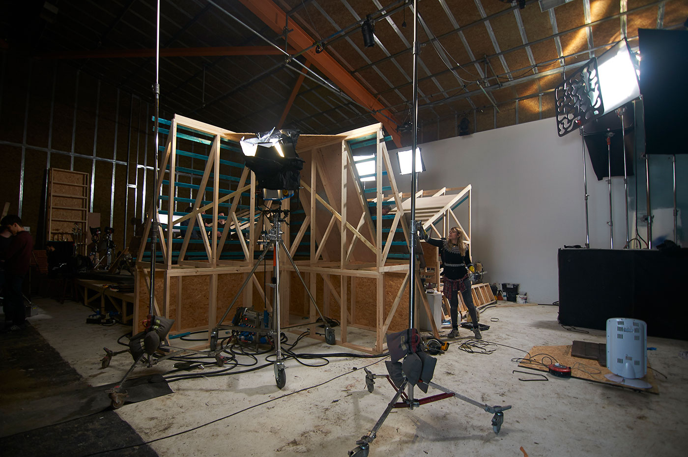 Studio One - Set Build