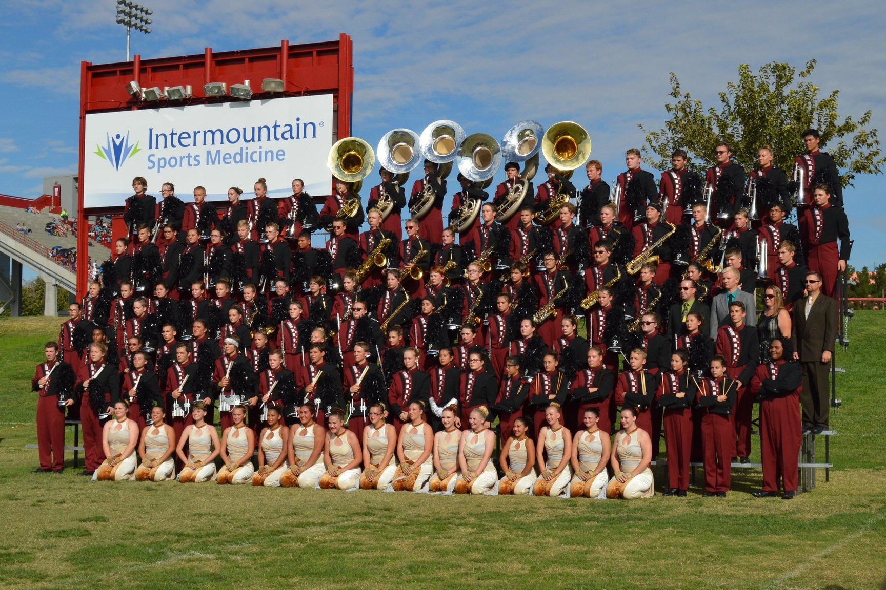 2016 Bands of America Class AA Regional Champions