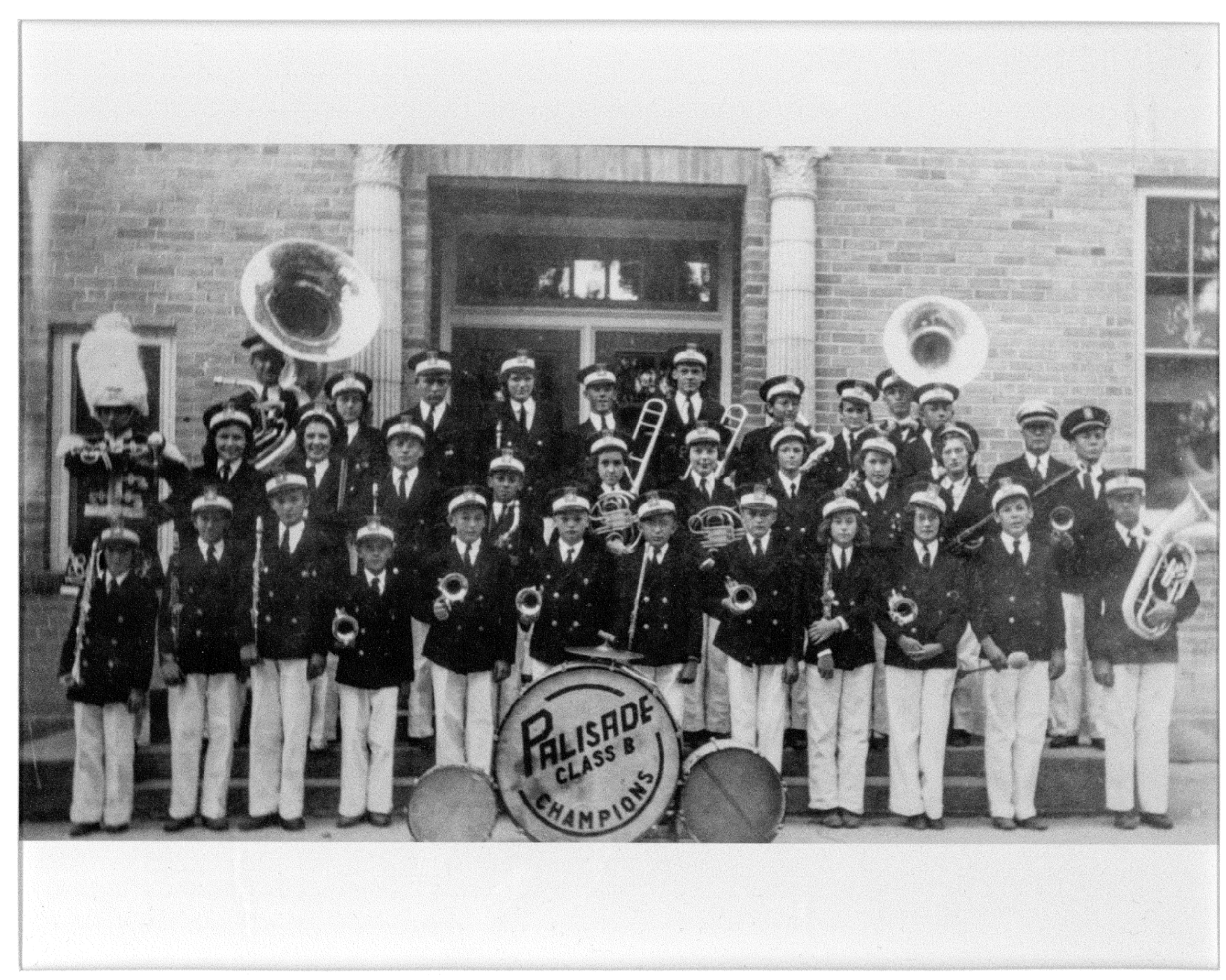 The Band in 1934 with Director Homer Flick
