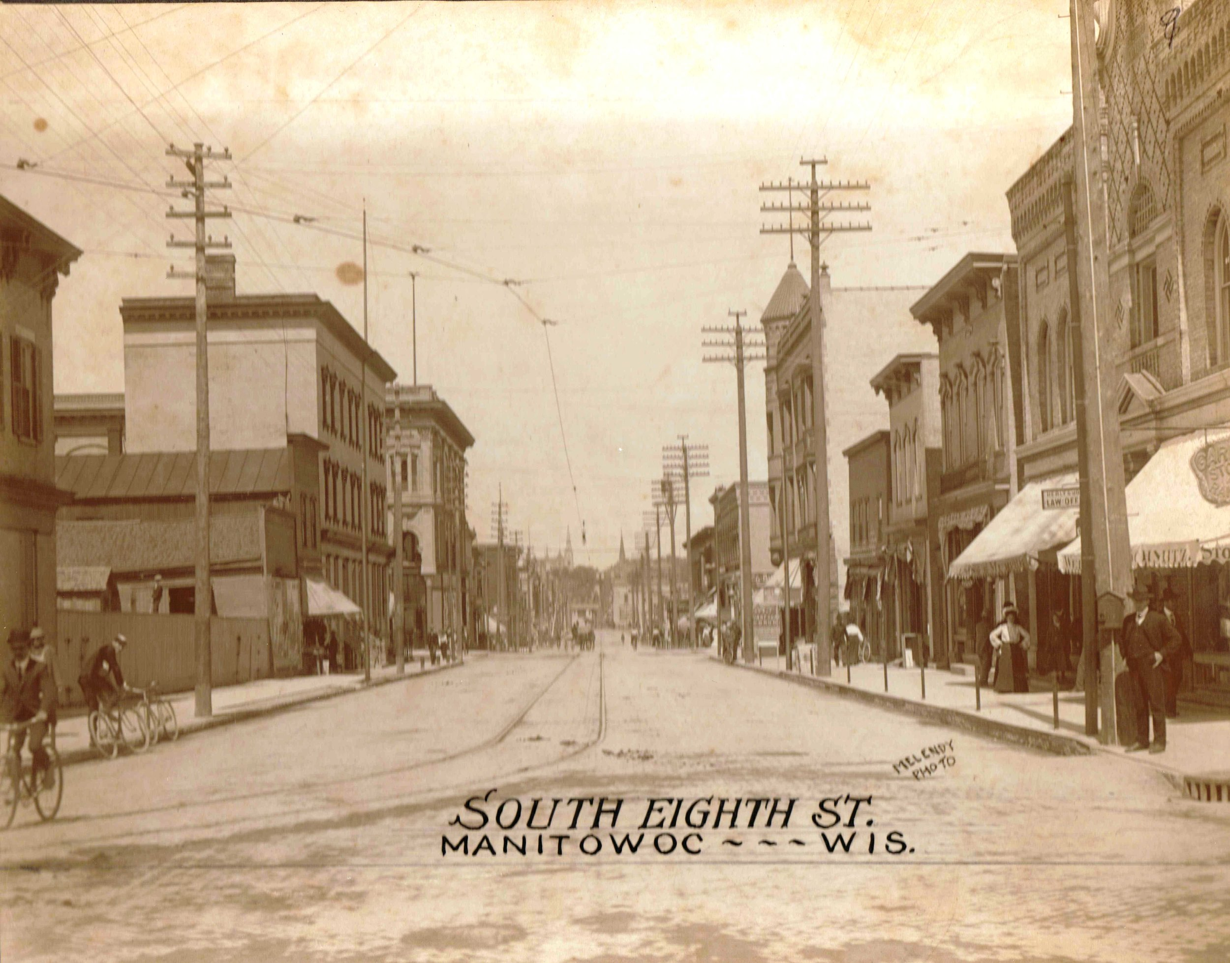 South Eighth Street, Manitowoc, circa 1900