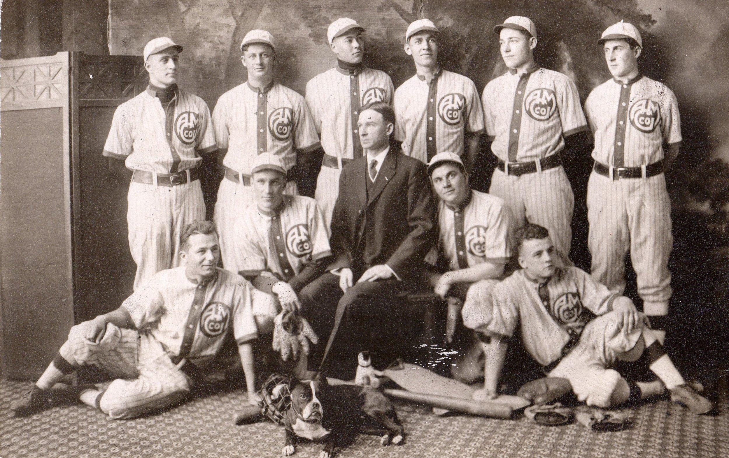 Aluminum Goods Base Ball team, circa 1910