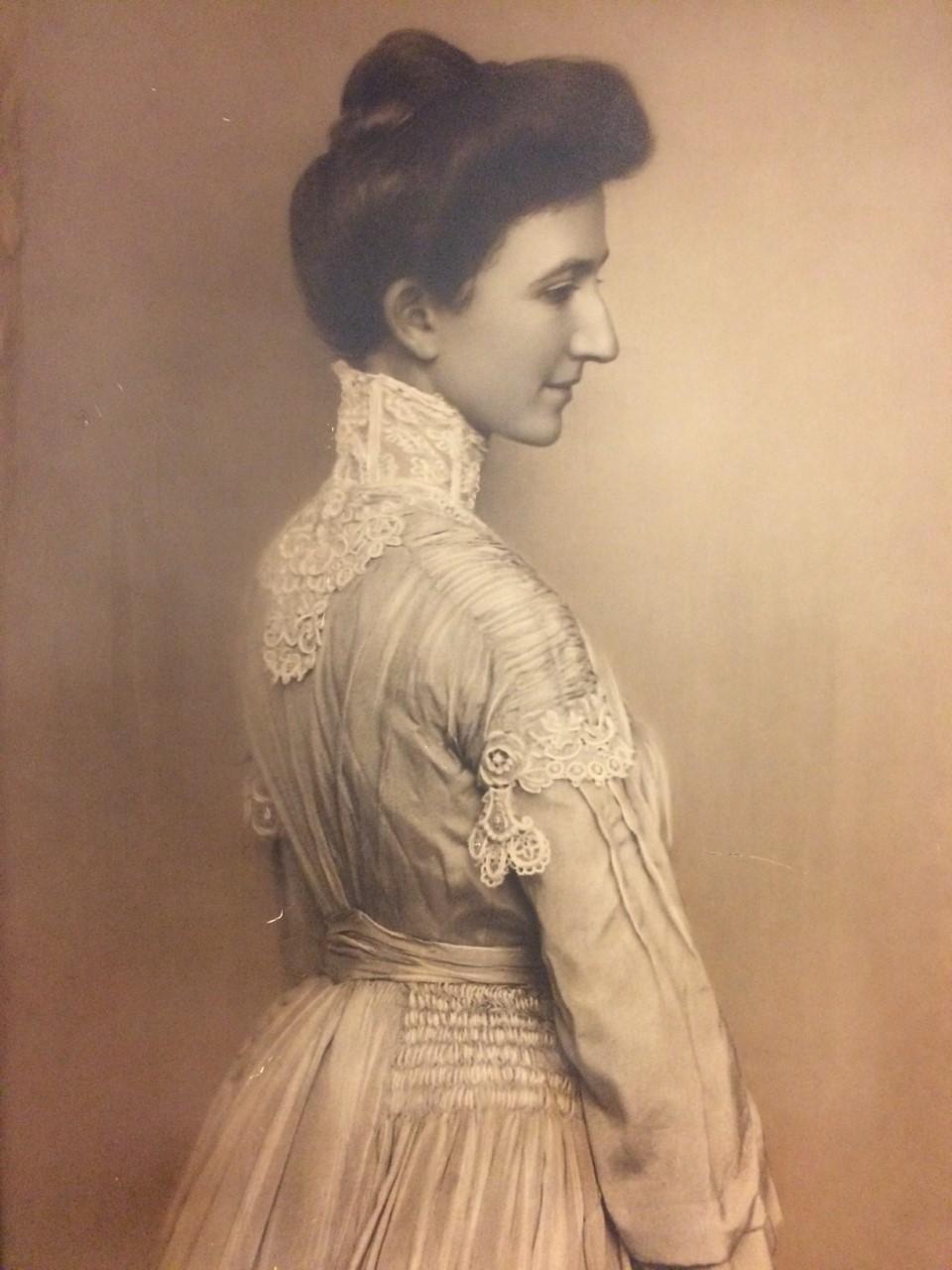 Frances K. Schroeder. Courtesy of Schroeder's Department Store.