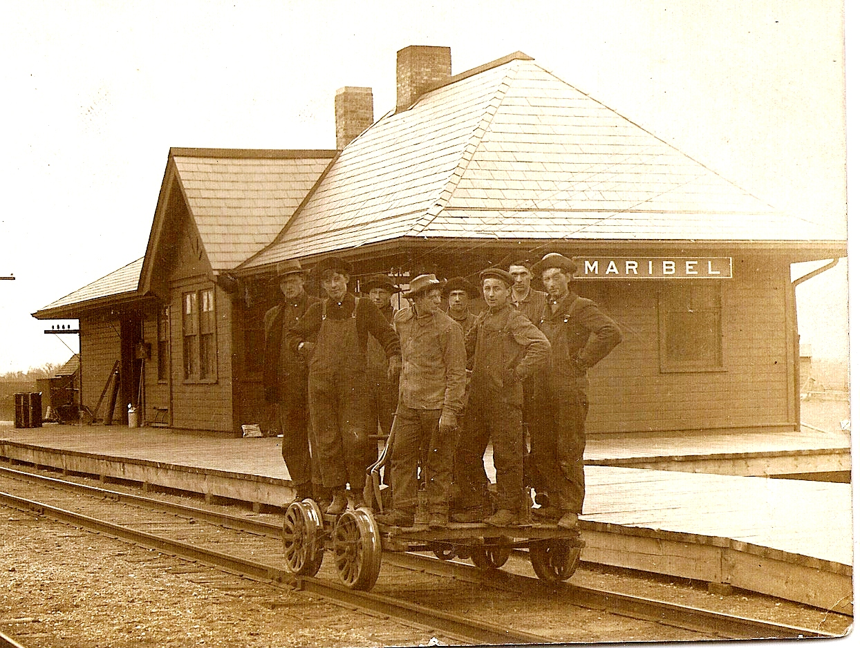 92.42.73: Maribel train station, undated