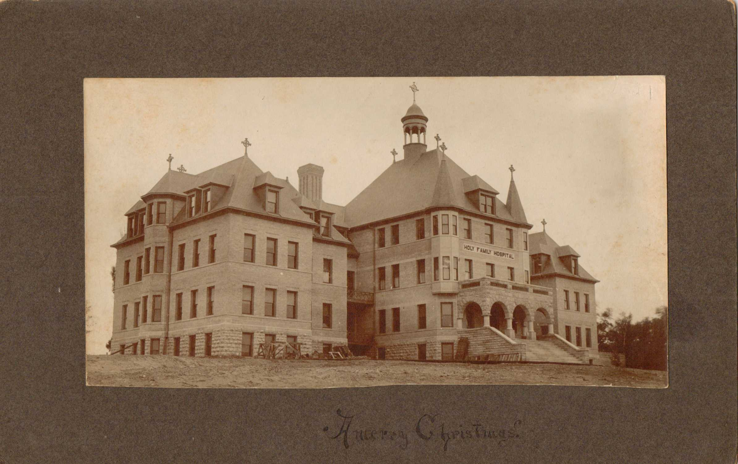Holy Family Hospital, Manitowoc, circa 1910